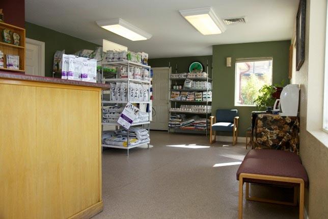 Cherished Companions Animal Clinic low-key waiting area